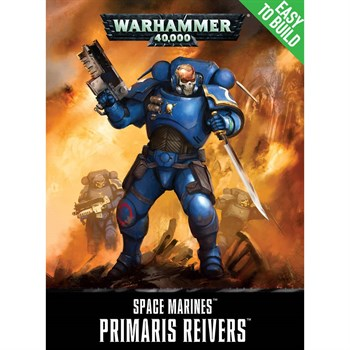 Easy To Build Space Marines Primaris Reivers