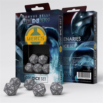 Mercenaries D20 Dice Set   (Dice)