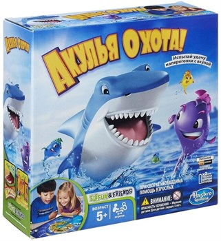 Настольная игра: HASBRO (РУС): Акулья охота