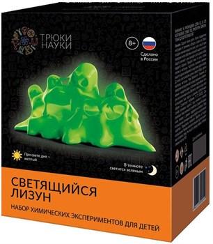 Трюки Науки-Светящийся лизун (желтый/зеленый)