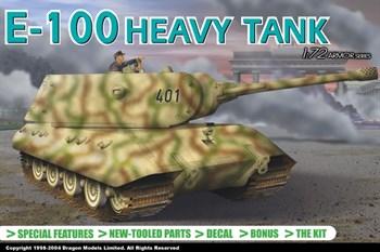 E-100 Heavy Tank  (1:72)