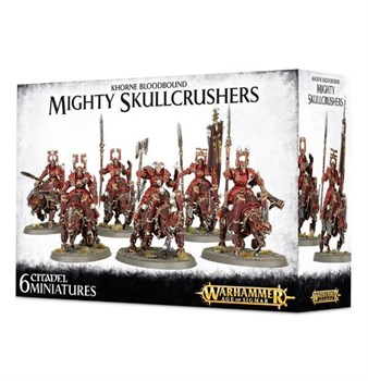 Khorne Bloodbound Mighty Skullcrushers