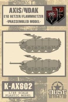 Axis/Ndak E10 Hetzer/Flammhetzer - Model Kit