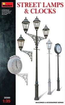 Аксессуары  Street Lamps & Clocks  (1:35)