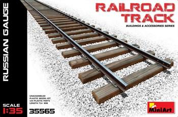 Аксессуары  Railroad Track Russian Gauge  (1:35)