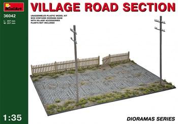 Наборы Для Диорам  Village Road Section  (1:35)