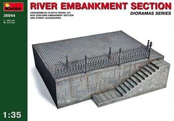 Наборы Для Диорам  River Embankment Section  (1:35)