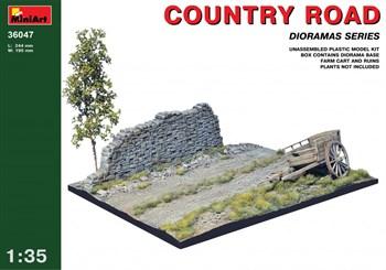 Наборы Для Диорам  Country Road  (1:35)