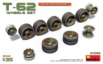 Аксессуары  T-62 Wheels Set  (1:35)