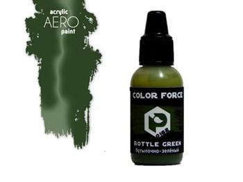 Бутылочно-зелёный (Bottle green)