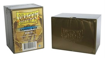 DS Deckboxes: Acrylic Gold (100)