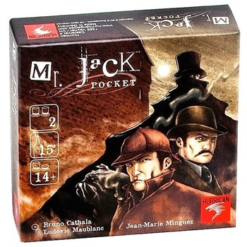 Мистер Джек (компактная версия, Mr. Jack Pocket)