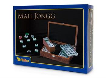 Маджонг в боксе (корневая древесина), арт. 3166 / Mah Jongg, Designbox, mit arabischen Zeichen