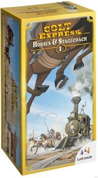 Кольт Экспресс: дополнение (Colt Express Expansion Horses&Stagecoach)