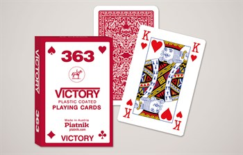 1313 Игральные карты Победа. Бридж, 55 листов