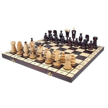 """Шахматы """"Королевские Большие (инкрустация)"""" (48 x 48 x 3 см)дерево"""