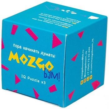 """MozgoБум: Головоломка """"Гиперкуб №1 Голубой"""""""